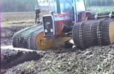Le règne des tracteurs Torvmaskiner sur chenilles