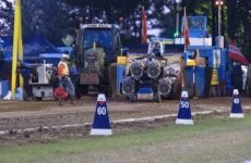 Tracteur pulling catégorie géant 4500kg