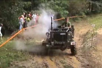 Les courses de tracteur on aime ça