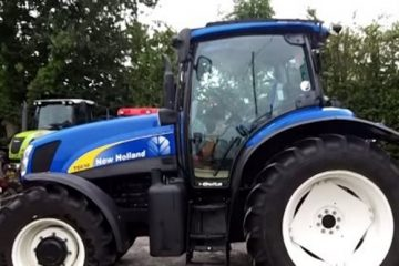 la cabine du new holland t6030