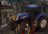 tracteur zombie