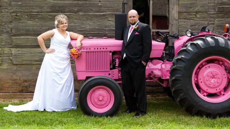 mariage-en-tracteur