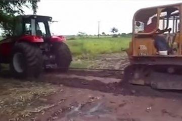 tracteur de la guerre vs massey fergusson