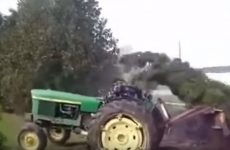 video gag tracteur