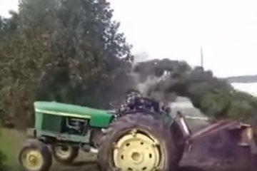 video gag tracteur