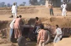 Comment faire lorsque la charge à tirer du tracteur est trop lourde